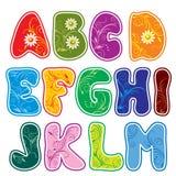 Alfabeto (parte 1) stock de ilustración