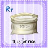 Alfabeto R Foto de archivo