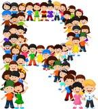 Alfabeto R do formulário das crianças ilustração do vetor