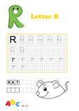 Alfabeto, rato Imagens de Stock