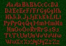 Alfabeto tricottato Fotografie Stock Libere da Diritti
