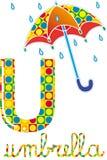 Alfabeto u Imagem de Stock Royalty Free