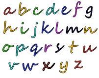 Alfabeto variopinto Fotografia Stock Libera da Diritti