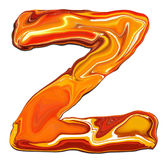 Alfabeto Z Foto de Stock Royalty Free