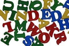 Alfabetos Foto de archivo
