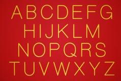 Alfabetos Imagens de Stock