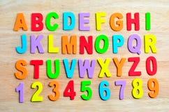 Alfabetos de ABC Foto de Stock