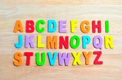 Alfabetos de ABC Imagem de Stock