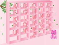Alfabetos para los niños Imagenes de archivo
