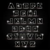 Alfabetreeks royalty-vrije illustratie