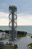 Alfabettorn i Batumi Arkivbild