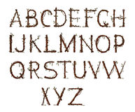 alfabetträdgård Royaltyfria Foton