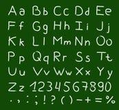 Alfabetvektor Royaltyfri Fotografi