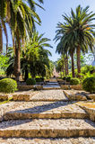 Alfabia gardens in Mallorca Stock Photo