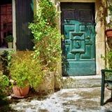 Alface romana do la de Vaison, Provence, França Imagem de Stock