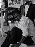 Alfaiate nepalês Foto de Stock Royalty Free