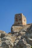 Alfajarin (Aragon, Spain): ruins. Alfajarin (Zaragoza, Aragon, Spain): ruins of a medieval tower Royalty Free Stock Photos