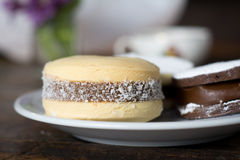 Alfajor gingerbread Royalty Free Stock Images