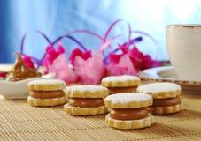 Alfajor (Peruvian Cookies) Royalty Free Stock Image