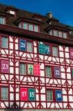 Alfalfa, capital del cantón de Alfalfa, Suiza central, Europa Imagenes de archivo