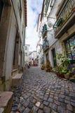 Alfama, Лиссабон, столица Португалии Стоковое фото RF