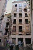 Alfama -里斯本最旧的区  库存图片