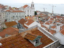 Alfama  Royalty Free Stock Photo
