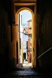 Alfama archway Zdjęcie Royalty Free