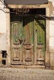Alfama dörr Royaltyfri Fotografi