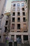 Alfama - der älteste Bezirk von Lissabon Stockbilder