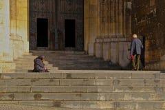 Alfama - der älteste Bezirk von Lissabon Stockfotos