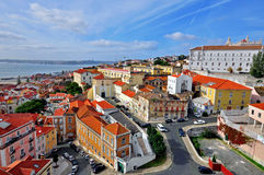 Alfama district, Lisbon Royalty Free Stock Photos