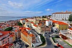 Alfama district, Lisbon Royalty Free Stock Photos