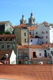 Alfama district in Lisbon Stock Photo