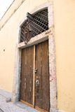 Alfama Door Royalty Free Stock Photography