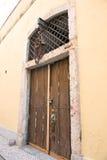 Alfama Door Royalty Free Stock Photography