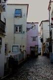Alfama - il più vecchio distretto di Lisbona Immagine Stock Libera da Diritti