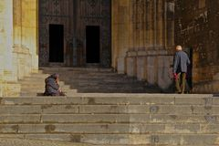 Alfama - il più vecchio distretto di Lisbona Fotografie Stock