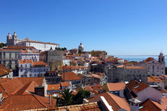 Alfama, Lisbon, Portugal Royalty Free Stock Photography