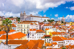 Alfama, Lisbon, Portugal Stock Images