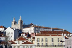 Alfama, Lisbon, Portugal Royalty Free Stock Photo