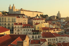 Alfama in Lisbon Royalty Free Stock Photography