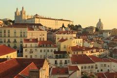 Alfama in Lisbon Royalty Free Stock Photography
