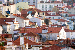 Alfama Lisbon Royalty Free Stock Images