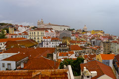 Alfama (Lisbona) Fotografie Stock