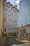 Alfama Lisbona Fotografia Stock Libera da Diritti