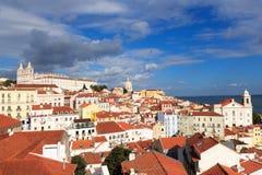 Alfama, Lisbona Fotografia Stock Libera da Diritti
