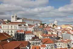 Alfama - Lisbona Portogallo Immagini Stock Libere da Diritti