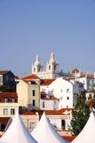 Alfama, Lisbona, Portogallo Immagine Stock Libera da Diritti