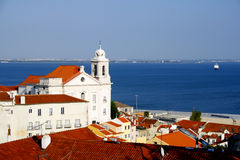 Alfama, Lisbona, Portogallo Fotografia Stock